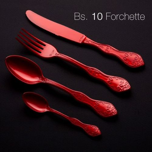 Chic Plastic Cutlery Knives 20cm Pearl Disposble Prty Cutlery BBQ Wedding